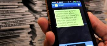 DDM MORAD CHERCHARI SMS DE VIGILANCE DESTINE AUX JOURNALISTES