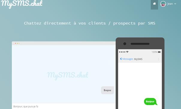 Chattez directement avec vos clients / prospects par SMS