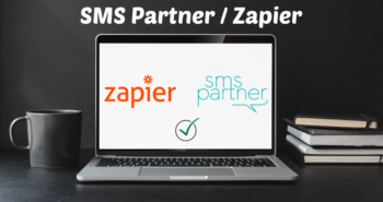 SMS Partner disponible sur Zapier