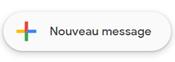 SMS par Gmail nouveau message